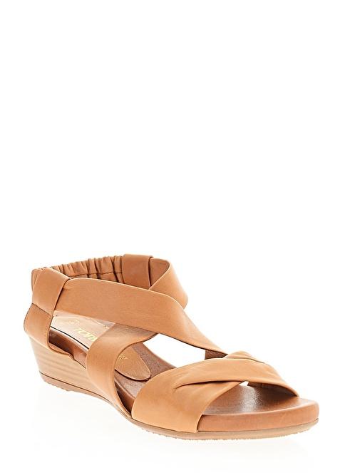 Top Model Sandalet Taba